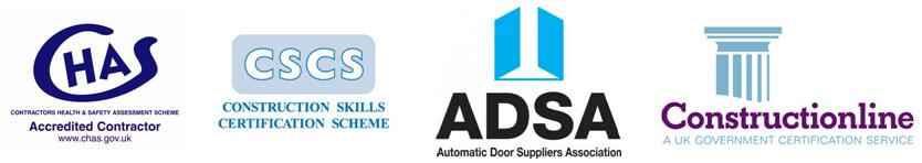 Accreditations  sc 1 st  Architectural Entrance Systems Ltd & AES Automatic Doors manufacture installation repair and service ... pezcame.com