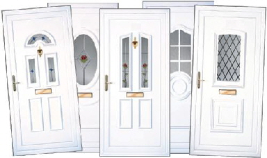 Doors pvc door top prehung exterior door pvc frame for Front door north tyneside